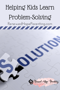 helping kids learn problem solving